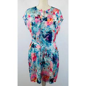 Women's Liz Claiborne Shift Floral Dress Size MP